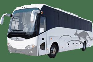 Best Car Rental For Chardham Yatra Luxury Bus Non Pushback 300x200